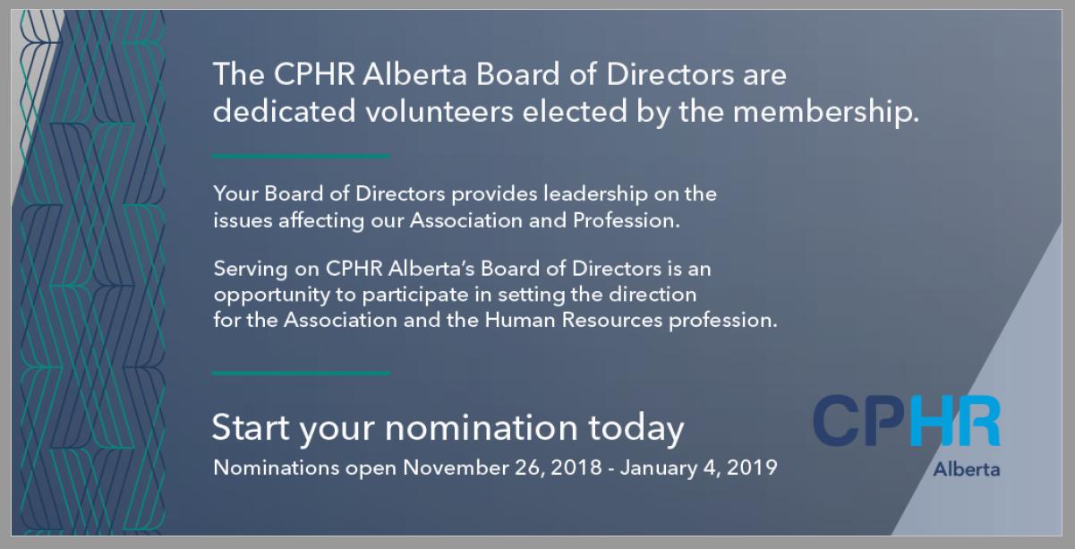 Start your nomination