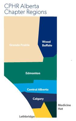 CPHR Alberta Chapter Regions