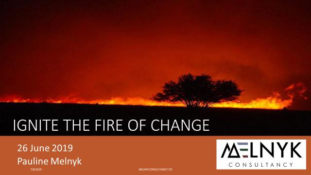 Ignite the Fire of Change - Pauline MeInyk Webinar