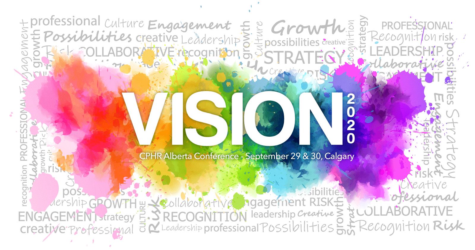 CPHR Alberta Conference: Vision 2020