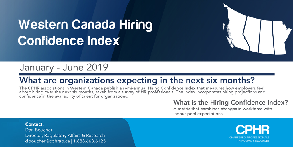 CPHR Alberta Blog - Hiring Confidence Index January to June 2019